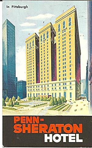 Pittsburgh Pennsylvania Penn Sheraton Hotel p31937 (Image1)