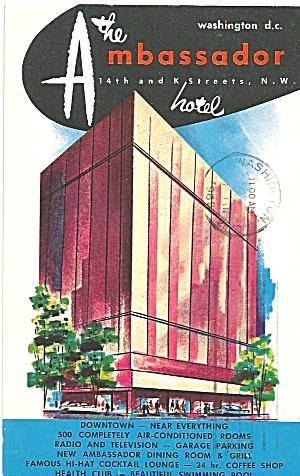 Washington DC The Ambassador Hotel p31938 (Image1)
