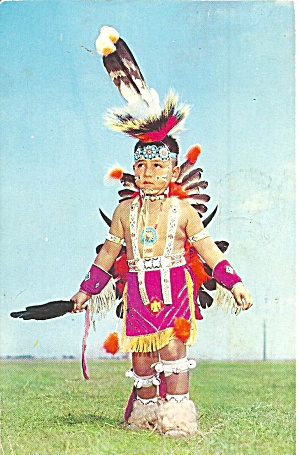 Native American Little Indian Brave P31966