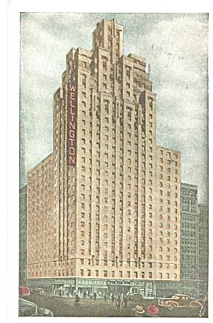 New York City Hotel Wellington  p31967 (Image1)