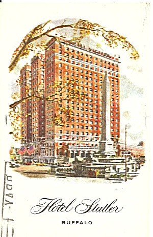 Buffalo New York Hotel Statler P31972