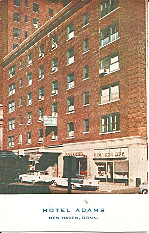 New Haven Connecticut Hotel Adams P31974