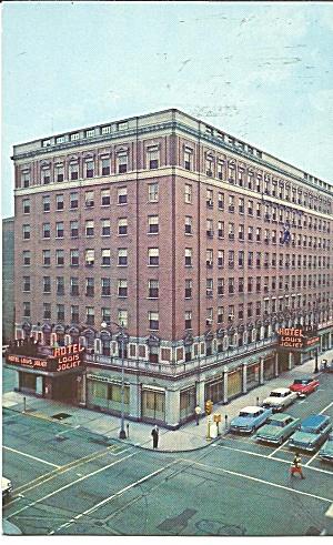 Joliet,Illinois Hotel Louis Joliet p31981 (Image1)