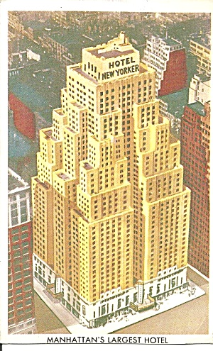 New York City Hotel New Yorker P31982