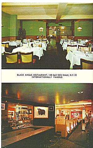 New York City The Black Angus Restaurant p31989 (Image1)