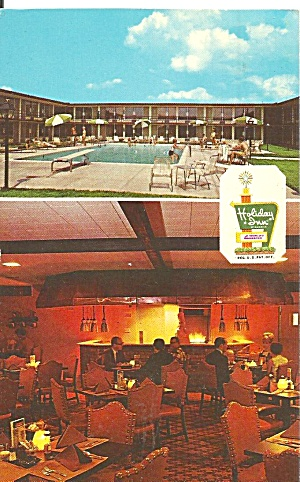 Macon Georgia Holiday Inn  West Postcard p31990 (Image1)
