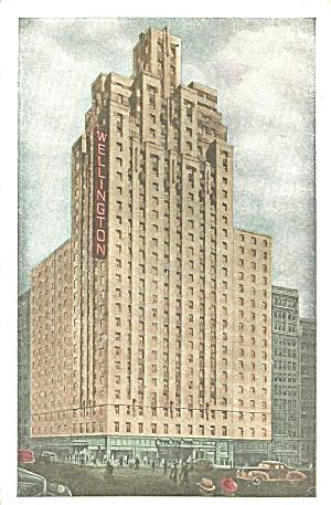 New York City New York  Hotel Wellington p32000 1948 (Image1)