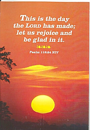 Bible Verse Psalms 118:24 NIV (Image1)