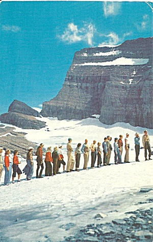Glacier National Park, Montana,Grinnell Party (Image1)