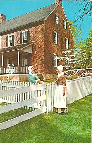 Old Salem Winston Salem NC John Vogler Home p32068 (Image1)