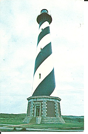 Cape Hatteras Lighthouse Overlooking Diamond Shoals P32069