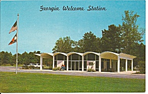 Georgia Wecome Station Hwy 301 P32136