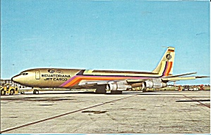 Ecuatoriana Airlines 707-321C NC-BGP Jetliner p32181 (Image1)