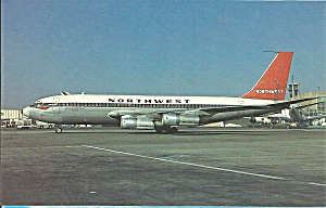 Northwest Orient Airlines 720-051B Jetliner p32193 (Image1)