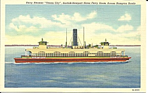 Ferry Steamer Ocean City Hampton Roads p32198 (Image1)
