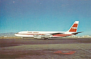 Twa Trans World Airlines 707-131b P32256