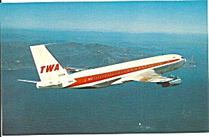 Twa Trans World Airlines 707-131 N731tw P32257