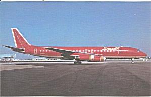 Braniff International DC-8-62 N1805 Maroon p32292 (Image1)