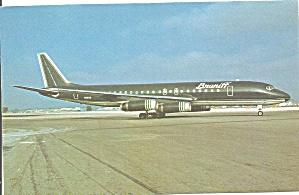 Braniff International DC-8-62 N1803 Green  p32293 (Image1)