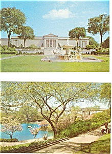 Cleveland OH Museum Postcards p3229 Lot of 2  (Image1)