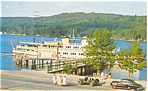 MV Mount Washington Postcard p3232 (Image1)
