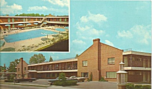 Williamsburg Va Holiday Inn Downtown Postcard P32345