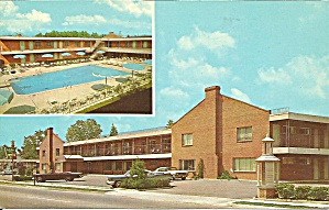 Holiday Inn Williamsburg Virginia Postcard P32365