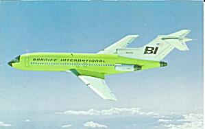 Braniff International 727 N7272 Green p32371 (Image1)