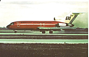 Braniff International 727  N7287 p32373 (Image1)