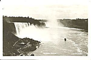 Niagara Falls General View Vintage Postcard p32411 (Image1)