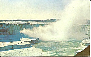 Niagara Falls Canadian Horseshoe Falls In Winter P32416