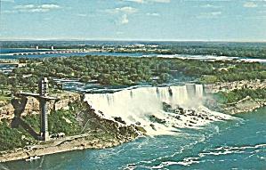 Niagara Falls American Falls Postcard p32431 (Image1)