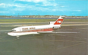Twa Trans World Airlines 727-31 N842tw P32472