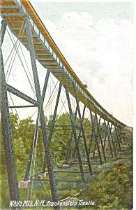 Frankenstein Trestle Postcard p3247 (Image1)