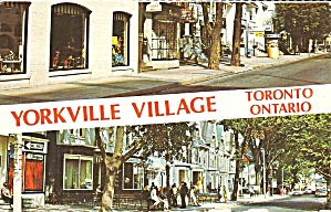 Toronto,Ontario, Canada Yorkville Village (Image1)