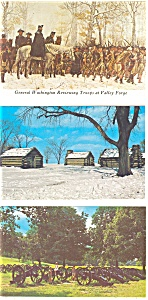 Valley Forge National Park Postcard Lot of 5 (Image1)