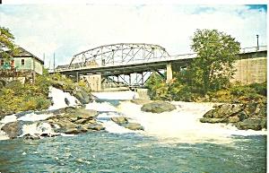 Bracebride Falls, Bracebridge Muskoka Canada (Image1)