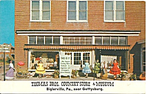 Biglerville Pa Thomas Bros Country Store Museum P32551