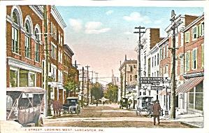 Lancaster Pennsylvania Early Street Scene p32565 (Image1)