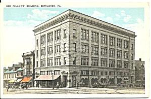 Bethlehem PA Odd Fellows Building p32597 (Image1)