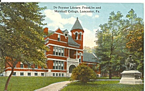 Lancaster PA Library Franklin and Marshall College p32612 (Image1)