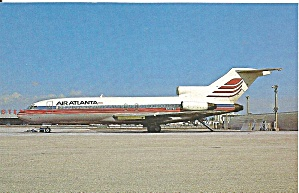 Air Atlanta 727-22  N7074U at Miami 1985 p32620 (Image1)