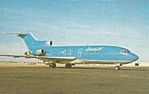 Braniff International 727-27 N7294 In Corvette Blue P32634