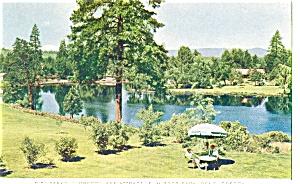 WW II Servicemans Bend Oregon Postcard p3263 (Image1)