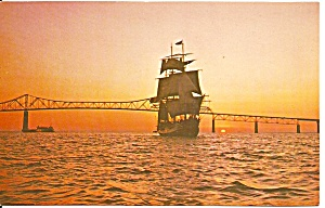 St Petersburg FL The Bounty Under Sail at Twilght p32650 (Image1)