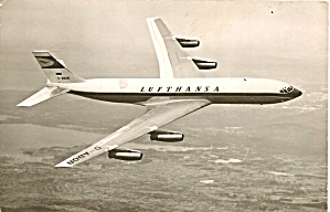 Lufthansas 707 D-ABOB in Flight p32661 (Image1)