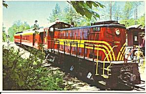 Wolfsboro NH Wolfsboro RR Alco S 4 Diesel Loco p32670 (Image1)