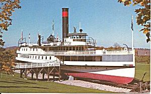Shelburne Vermont Sidewheeler SS Ticonderoga p32672 (Image1)