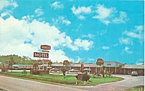 Florence SC Mac s Motel Postcard p32730 (Image1)