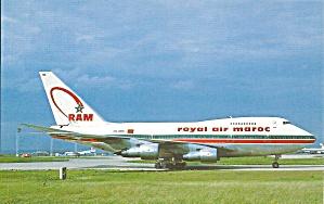 Royal Air Morac 747SP-44 CN-RMS at Paris p32736 (Image1)